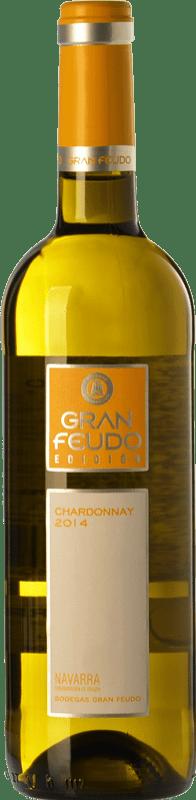 4,95 € Envío gratis | Vino blanco Gran Feudo Edición D.O. Navarra Navarra España Chardonnay Botella 75 cl