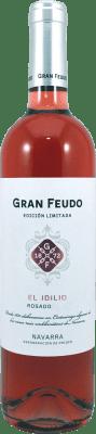 7,95 € Kostenloser Versand | Rosé-Wein Gran Feudo Edición Limitada Las Lías D.O. Navarra Navarra Spanien Tempranillo, Merlot, Grenache Flasche 75 cl
