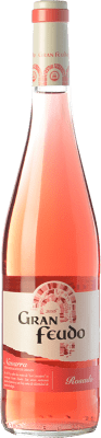 3,95 € Kostenloser Versand | Rosé-Wein Gran Feudo Joven D.O. Navarra Navarra Spanien Grenache Flasche 75 cl