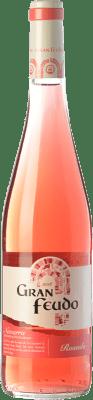 3,95 € Free Shipping | Rosé wine Gran Feudo Joven D.O. Navarra Navarre Spain Grenache Bottle 75 cl