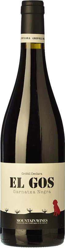 7,95 € Free Shipping | Red wine Grifoll Declara El Gos Joven D.O. Montsant Catalonia Spain Syrah, Grenache, Carignan Bottle 75 cl