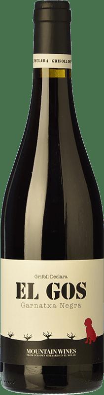 7,95 € Envoi gratuit | Vin rouge Grifoll Declara El Gos Joven D.O. Montsant Catalogne Espagne Syrah, Grenache, Carignan Bouteille 75 cl