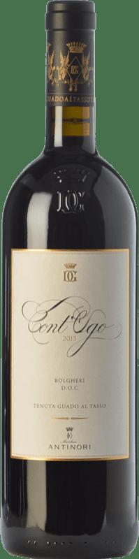 33,95 € Envoi gratuit | Vin rouge Guado al Tasso Cont'Ugo D.O.C. Bolgheri Toscane Italie Merlot Bouteille 75 cl