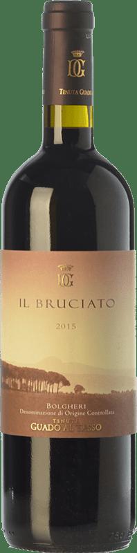 16,95 € Envío gratis   Vino tinto Guado al Tasso Il Bruciato D.O.C. Bolgheri Toscana Italia Merlot, Syrah, Cabernet Sauvignon Botella 75 cl