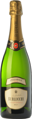 21,95 € Free Shipping | White sparkling Berlucchi Cellarius Brut D.O.C.G. Franciacorta Lombardia Italy Pinot Black, Chardonnay Bottle 75 cl. | Thousands of wine lovers trust us to get the best price guarantee, free shipping always and hassle-free shopping and returns.