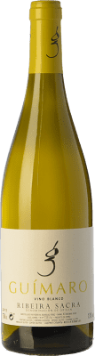 9,95 € Envío gratis | Vino blanco Guímaro D.O. Ribeira Sacra Galicia España Torrontés, Godello, Loureiro, Treixadura, Albariño Botella 75 cl