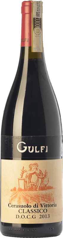 16,95 € Envoi gratuit | Vin rouge Gulfi Classico D.O.C.G. Cerasuolo di Vittoria Sicile Italie Nero d'Avola, Frappato Bouteille 75 cl
