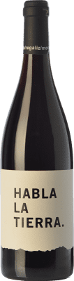 7,95 € Free Shipping | Red wine Habla la Tierra Joven I.G.P. Vino de la Tierra de Extremadura Estremadura Spain Tempranillo, Cabernet Sauvignon Bottle 75 cl