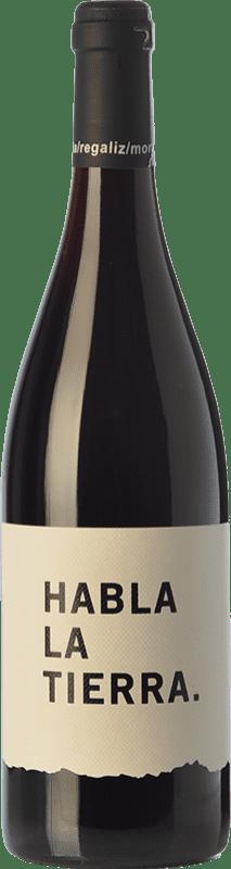 6,95 € Free Shipping | Red wine Habla la Tierra Joven I.G.P. Vino de la Tierra de Extremadura Estremadura Spain Tempranillo, Cabernet Sauvignon Bottle 75 cl