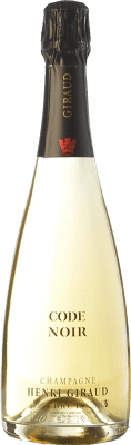 109,95 € Free Shipping | White sparkling Henri Giraud Code Noir Reserva A.O.C. Champagne Champagne France Pinot Black Bottle 75 cl. | Thousands of wine lovers trust us to get the best price guarantee, free shipping always and hassle-free shopping and returns.