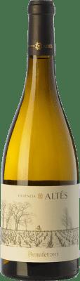 16,95 € Kostenloser Versand | Weißwein Herència Altés Benufet Crianza D.O. Terra Alta Katalonien Spanien Grenache Weiß Flasche 75 cl