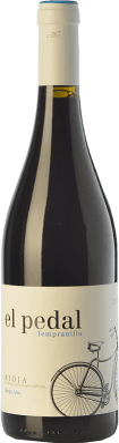 6,95 € Envío gratis | Vino tinto Hernáiz El Pedal Joven D.O.Ca. Rioja La Rioja España Tempranillo Botella 75 cl