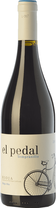 6,95 € Envoi gratuit | Vin rouge Hernáiz El Pedal Joven D.O.Ca. Rioja La Rioja Espagne Tempranillo Bouteille 75 cl