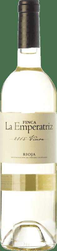 6,95 € Envío gratis | Vino blanco Hernáiz La Emperatriz D.O.Ca. Rioja La Rioja España Viura Botella 75 cl