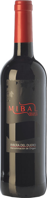 11,95 € Free Shipping | Red wine Hornillos Ballesteros Mibal Joven D.O. Ribera del Duero Castilla y León Spain Tempranillo Bottle 75 cl