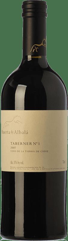 75,95 € Free Shipping | Red wine Huerta de Albalá Taberner Nº 1 Crianza 2007 I.G.P. Vino de la Tierra de Cádiz Andalusia Spain Merlot, Syrah, Cabernet Sauvignon Bottle 75 cl
