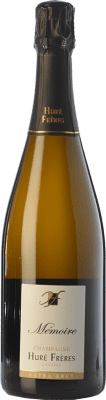 62,95 € Free Shipping | White sparkling Huré Frères Mémoire A.O.C. Champagne Champagne France Pinot Black, Chardonnay, Pinot Meunier Bottle 75 cl. | Thousands of wine lovers trust us to get the best price guarantee, free shipping always and hassle-free shopping and returns.