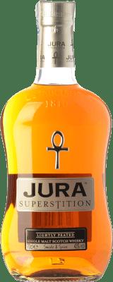 59,95 € Envoi gratuit | Whisky Single Malt Isle of Jura Superstition Îles Royaume-Uni Bouteille 70 cl