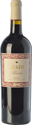9,95 € Free Shipping | Red wine Izadi Selección Reserva D.O.Ca. Rioja The Rioja Spain Tempranillo, Graciano Bottle 75 cl | Thousands of wine lovers trust us to get the best price guarantee, free shipping always and hassle-free shopping and returns.