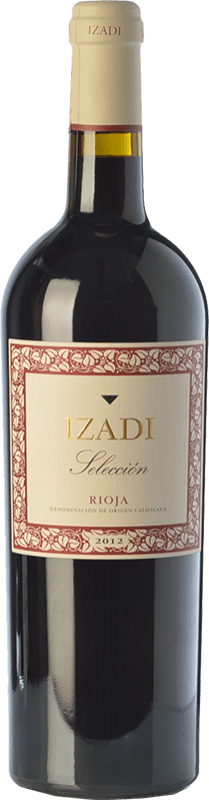 12,95 € Free Shipping | Red wine Izadi Selección Reserva D.O.Ca. Rioja The Rioja Spain Tempranillo, Graciano Bottle 75 cl