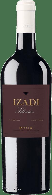 11,95 € Envío gratis | Vino tinto Izadi Selección Reserva D.O.Ca. Rioja La Rioja España Tempranillo, Graciano Botella 75 cl
