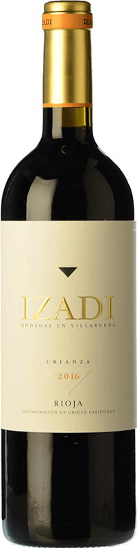 64,95 € Free Shipping | Red wine Izadi Crianza D.O.Ca. Rioja The Rioja Spain Tempranillo Jeroboam Bottle-Double Magnum 3 L