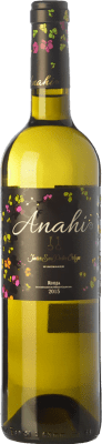 6,95 € Envoi gratuit | Vin blanc San Pedro Ortega Anahí D.O.Ca. Rioja La Rioja Espagne Malvasía, Tempranillo Blanc, Sauvignon Blanc Bouteille Magnum 1,5 L