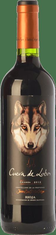 12,95 € Envío gratis   Vino tinto San Pedro Ortega Cueva de Lobos Crianza D.O.Ca. Rioja La Rioja España Tempranillo Botella Mágnum 1,5 L