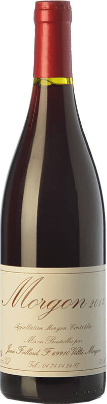 23,95 € Free Shipping | Red wine Foillard Classique Joven A.O.C. Morgon Beaujolais France Gamay Bottle 75 cl