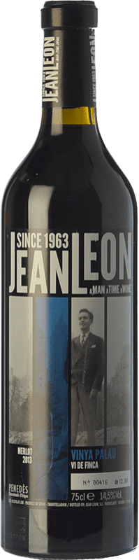 23,95 € Envoi gratuit | Vin rouge Jean Leon Vinya Palau Crianza D.O. Penedès Catalogne Espagne Merlot Bouteille 75 cl