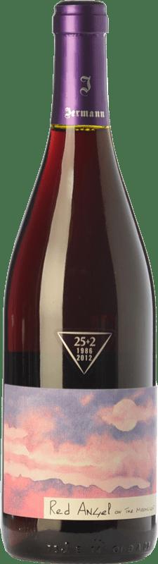 23,95 € Envío gratis | Vino tinto Jermann Red Angel I.G.T. Friuli-Venezia Giulia Friuli-Venezia Giulia Italia Pinot Negro Botella 75 cl