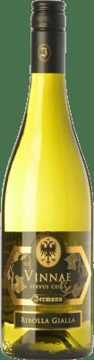 23,95 € Envío gratis | Vino blanco Jermann Vinnae I.G.T. Friuli-Venezia Giulia Friuli-Venezia Giulia Italia Riesling, Ribolla Gialla, Tocai Friulano Botella 75 cl