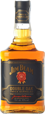 29,95 € Free Shipping | Bourbon Jim Beam Double Oak Kentucky United States Bottle 70 cl
