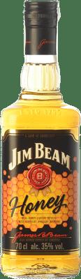 11,95 € Envío gratis | Bourbon Jim Beam Honey Kentucky Estados Unidos Botella 70 cl