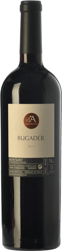 35,95 € Free Shipping | Red wine Joan d'Anguera Bugader Crianza D.O. Montsant Catalonia Spain Syrah, Grenache Bottle 75 cl