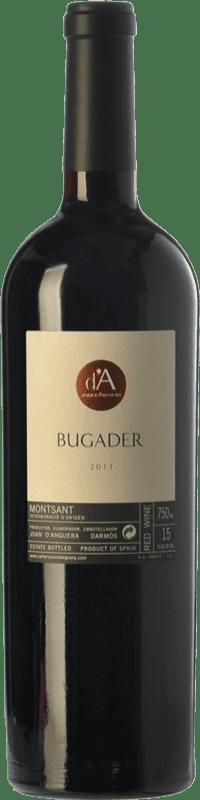 35,95 € Envío gratis | Vino tinto Joan d'Anguera Bugader Crianza D.O. Montsant Cataluña España Syrah, Garnacha Botella 75 cl