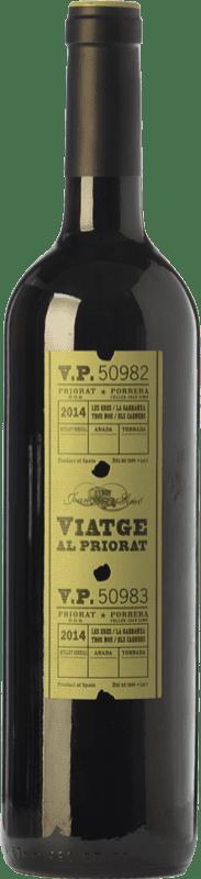 14,95 € Envoi gratuit | Vin rouge Joan Simó Viatge al Joven D.O.Ca. Priorat Catalogne Espagne Merlot, Syrah, Grenache, Cabernet Sauvignon, Carignan, Grenache Poilu Bouteille 75 cl
