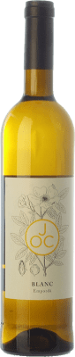9,95 € Free Shipping | White wine JOC Blanc D.O. Empordà Catalonia Spain Grenache White, Macabeo Bottle 75 cl