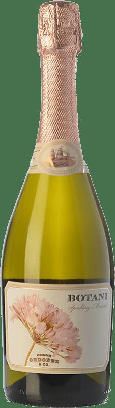 13,95 € Envío gratis | Espumoso blanco Jorge Ordóñez Botani Joven D.O. Sierras de Málaga Andalucía España Moscatel de Alejandría Botella 75 cl
