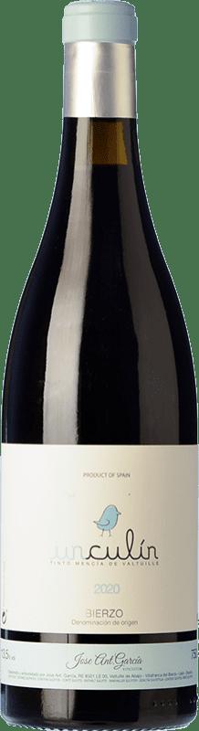 8,95 € Free Shipping | Red wine José Antonio García Unculín Joven D.O. Bierzo Castilla y León Spain Mencía Bottle 75 cl