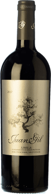 12,95 € Kostenloser Versand   Rotwein Juan Gil Etiqueta Plata Crianza D.O. Jumilla Kastilien-La Mancha Spanien Monastrell Flasche 75 cl