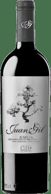 12,95 € Envoi gratuit | Vin rouge Juan Gil Etiqueta Plata Crianza D.O. Jumilla Castilla La Mancha Espagne Monastrell Bouteille 75 cl