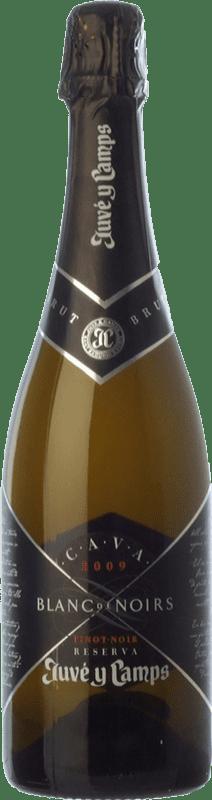 28,95 € Envoi gratuit | Blanc moussant Juvé y Camps Blanc de Noirs Reserva D.O. Cava Catalogne Espagne Pinot Noir, Xarel·lo Bouteille 75 cl