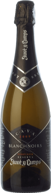 28,95 € Free Shipping | White sparkling Juvé y Camps Blanc de Noirs Reserva D.O. Cava Catalonia Spain Pinot Black, Xarel·lo Bottle 75 cl
