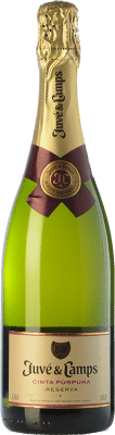 8,95 € Free Shipping | White sparkling Juvé y Camps Cinta Púrpura Brut Reserva D.O. Cava Catalonia Spain Macabeo, Xarel·lo, Parellada Half Bottle 37 cl
