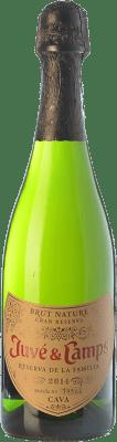 124,95 € Free Shipping | White sparkling Juvé y Camps Reserva de la Familia Reserva D.O. Cava Catalonia Spain Macabeo, Xarel·lo, Parellada Jéroboam Bottle-Double Magnum 3 L