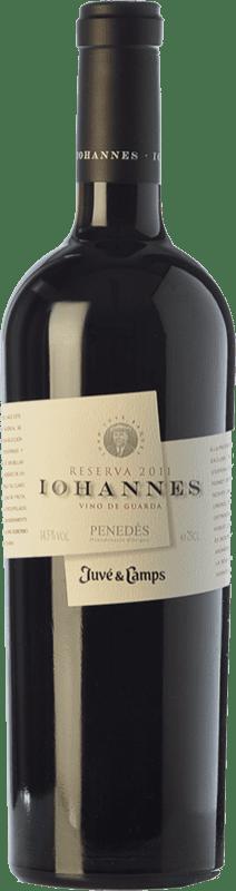 28,95 € Free Shipping | Red wine Juvé y Camps Iohannes Reserva D.O. Penedès Catalonia Spain Merlot, Cabernet Sauvignon Bottle 75 cl