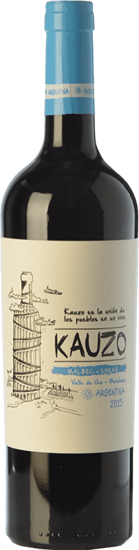 15,95 € Envoi gratuit   Vin rouge Kauzo Malbec-Syrah Joven I.G. Valle de Uco Uco Valley Argentine Syrah, Malbec Bouteille 75 cl
