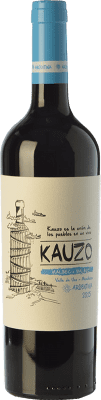 14,95 € Free Shipping | Red wine Kauzo Joven I.G. Valle de Uco Uco Valley Argentina Malbec Bottle 75 cl