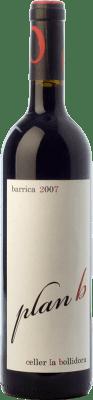11,95 € Free Shipping | Red wine La Bollidora Plan B Crianza D.O. Terra Alta Catalonia Spain Syrah, Grenache, Carignan, Morenillo Bottle 75 cl